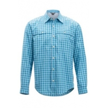 Men's Vuelo Gingham L/S by ExOfficio in Rancho Cucamonga Ca