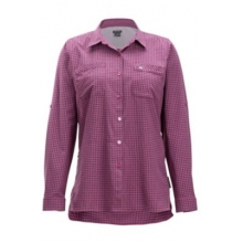 Women's Palata Check LS by ExOfficio in Fort Collins Co
