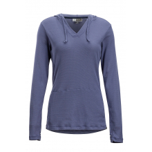 Women's BA Lumen Hoody by ExOfficio in Marina Ca
