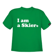I Am A Skier Toddler by LINE Skis in Anchorage Ak