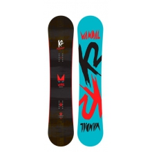 Vandal Snowboard Wide by K2 Snowboarding in Manhattan Beach Ca