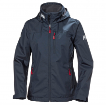 Women's Crew Hooded Midlayer Jacket by Helly Hansen