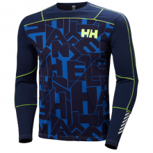 Men's HH Lifa Active Graphic Crew by Helly Hansen