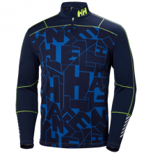 Men's HH Lifa Active Graphic 1/2 Zip by Helly Hansen in Glenwood Springs CO