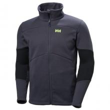 Men's Eq Black Midlayer Jacket by Helly Hansen