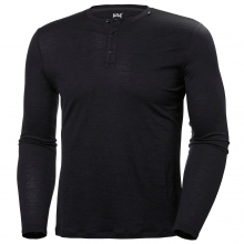 Men's HH Merino Light Button LS