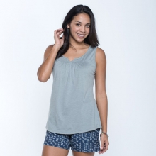 Women's Palmilla Notched Tank by Toad&Co in South Yarmouth Ma