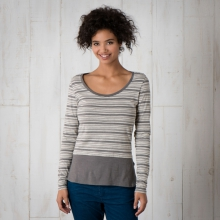 Stripeout Solid Hem Tee by Toad&Co