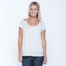 Women's Tissue Crossback SS Tee