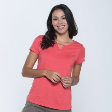 Women's Palmilla Cutout SS Tee by Toad&Co in Fort Collins Co