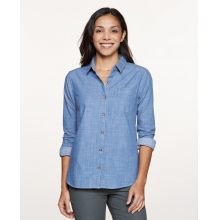 Women's Chambray Slub LS Shirt by Toad&Co in Burbank Ca