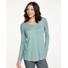 Women's Aria Henley LS Top by Toad&Co in Golden Co