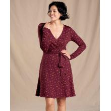 Women's Cue Wrap LS Dress