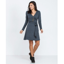 Women's Cue Wrap Dress by Toad&Co in Arcata Ca