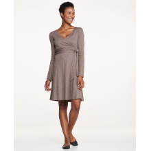 Women's Cue Wrap LS Dress by Toad&Co in Glenwood Springs CO