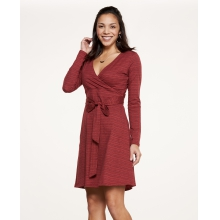 Women's Cue Wrap Dress by Toad&Co in Durango Co