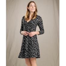 Women's Cue Wrap LS Dress by Toad&Co in Fairbanks Ak