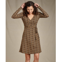 Women's Cue Wrap LS Dress by Toad&Co in Sioux Falls SD