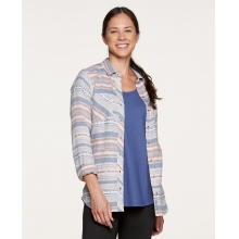Women's Cairn LS Shirt by Toad&Co in Marina Ca