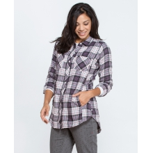 Women's Cairn LS Shirt by Toad&Co in Durango Co