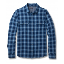 Men's Indigo Flannel Slim LS Shirt by Toad&Co in Concord Ca