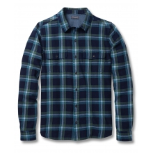 Men's Indigo Flannel Slim LS Shirt by Toad&Co in Sioux Falls SD