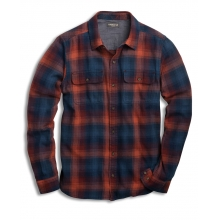 Indigo Flannel LS Shirt Slim by Toad&Co in Glenwood Springs CO