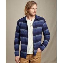 Men's Indigo Flannel LS Slim Shirt