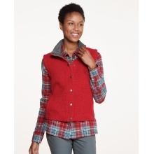 Women's Sheridan Sherpa Vest by Toad&Co in Durango Co