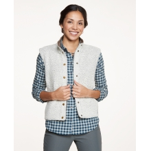 Women's Sheridan Sherpa Vest by Toad&Co in Anchorage Ak
