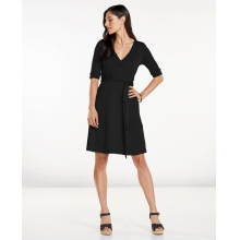 Women's Cue Wrap Cafe Dress by Toad&Co in Arcata Ca