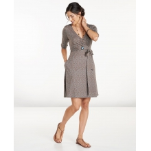 Women's Cue Wrap Cafe Dress by Toad&Co in Glenwood Springs CO