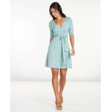 Women's Cue Wrap Cafe Dress by Toad&Co in Boulder Co