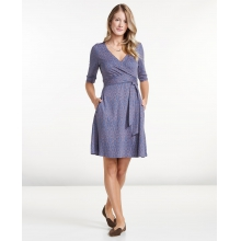 Women's Cue Wrap Cafe Dress by Toad&Co in Concord Ca