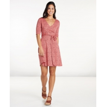Women's Cue Wrap Cafe Dress by Toad&Co in Mountain View Ca