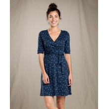 Women's Cue Wrap Cafe Dress by Toad&Co in Oro Valley Az