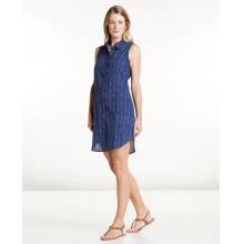 Women's Indigo Ridge SL Dress by Toad&Co in Berkeley Ca