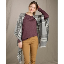 Women's Serape Poncho by Toad&Co in Whistler Bc