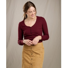 Women's Linfield LS Henley by Toad&Co in Johnstown Co