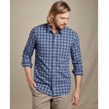 Men's Flannagan LS Slim Shirt by Toad&Co in Blacksburg VA