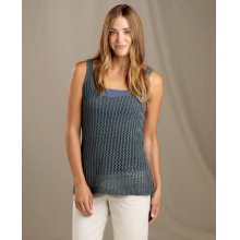 Women's Recycled Denim Tank by Toad&Co in Whistler Bc
