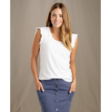 Women's Rufflita Tee by Toad&Co in Westminster Co