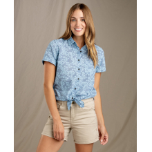Women's Indigo-For-It SS Shirt by Toad&Co in Chelan WA