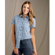 Women's Indigo-For-It SS Shirt by Toad&Co in Marina Ca