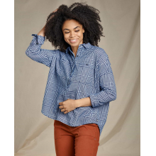Women's Indigo Wells LS Popover by Toad&Co in Sioux Falls SD
