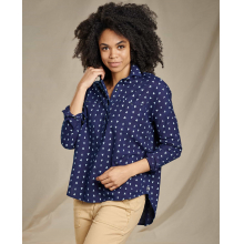 Women's Indigo Wells LS Popover by Toad&Co in Corte Madera Ca