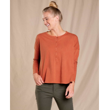 Women's Primo LS Henley by Toad&Co in Chelan WA