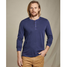 Men's Primo LS Henley by Toad&Co in Whistler Bc