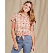 Women's Airbrush Tie SS Shirt by Toad&Co in Woodland Hills Ca