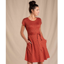 Women's Cue Wrap SS Dress